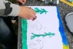 Malowanie na trawie